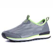 Men' s Breathable Mesh Outdoor Casual Shoes Anti-slip Walking Shoes For Men Lightweight Daily Leisure Shoes New Arrivals 6065-M