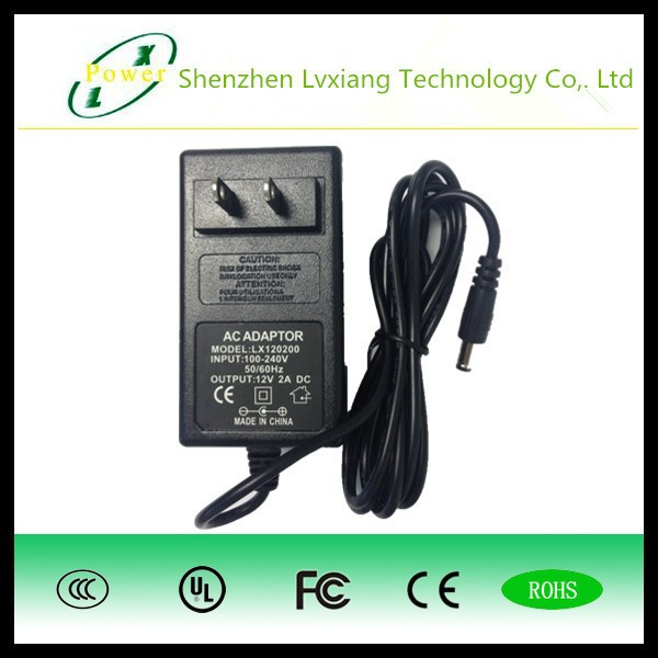 Australia 2 Pin 12V 2A 24W AC Power Adaptor Charger For led strip light