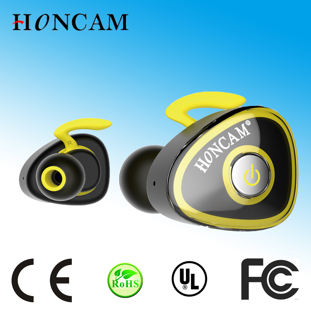Factory Origin True Wireless Earphone Mini Stereo Earbud for sports 125 hours standby