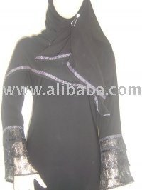 Abaya Wholesale Exclusive Funky Sleeves Crystals Latest Designs. . Enquire Now For Prices