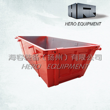 4m waste scrap metal skip bin