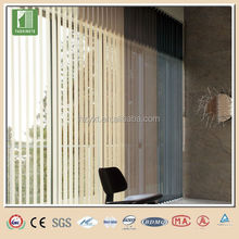 Office pvc slat for vertical blinds components