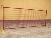 4'x10ft quick& easy install temporary Welded wire fence panel