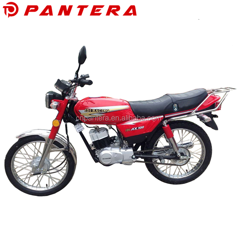 Motorcycle for Sale AX100 2 Stroke Motorbike 100cc Chinese Gas Road Bike