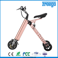 Folding Easy Rider mobility scooter 250w,pink electric scooter with seat