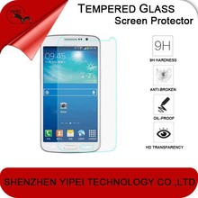 Tempered Glass Screen Protector for Samsung Galaxy Alpha 9H Hard 2.5D Arc Edge Round Border Screen Protector with clean tool