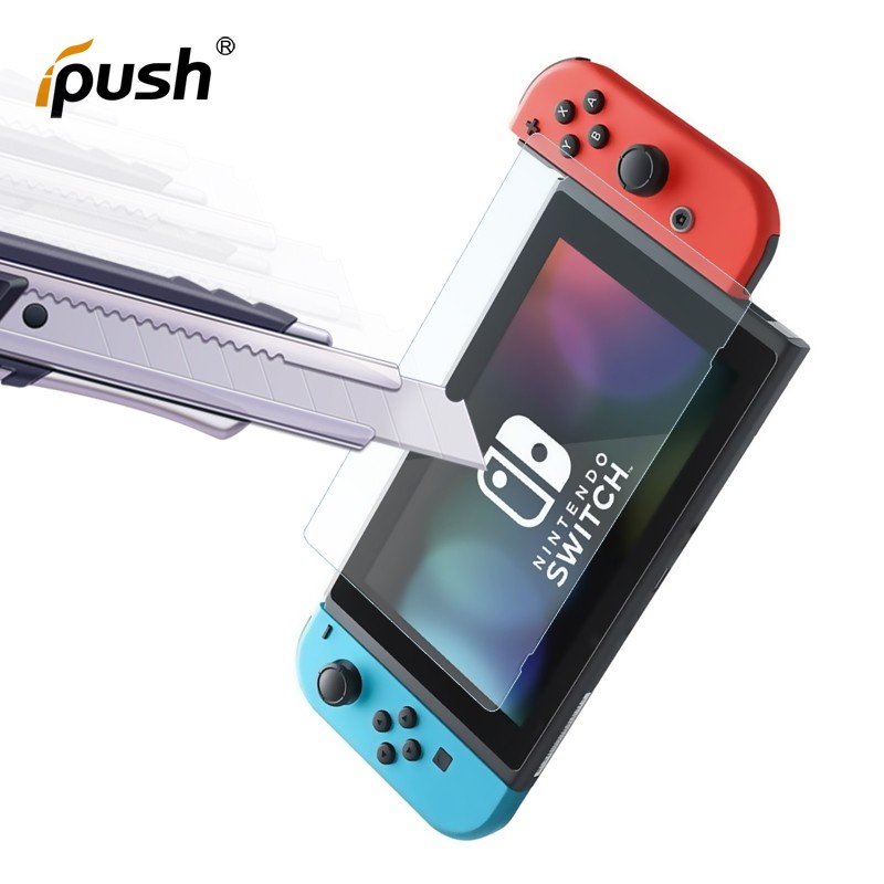 Anti-scratch 0.33mm 2.5D and 9H 6.2 inches tempered glasses screen protector for Nintendo Switch