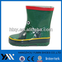 Matte Vullcanized natural rubber children rain boot