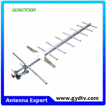 Outdoor Compact Yagi HDTV Antenna and tv cable Mounting Pole for Roof or Attic