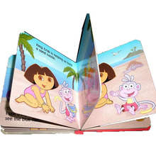 top quality cardboard children book printing