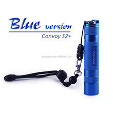 Convoy S2+ EDC Flashlight 1000lm XM-L2 T6 - 4C 3 / 5 Modes LED Flashlight Torch