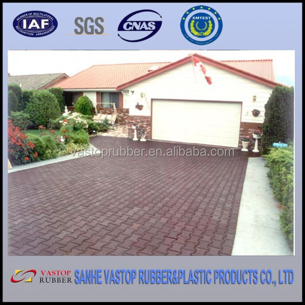 Tiles Outdoor Driveways Rubber Dogbone Pavers