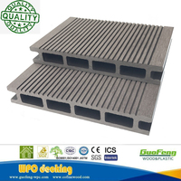 Eco-friendly Wpc Recycled Low Maintenance Decking Wood Plastic Composite For Outdoor