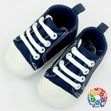 Cute Infant Toddler Baby Boys Girls Kids Soft Sole Shoes Sneaker Navy Shoes Baby For Party Baby Shoes With Shoelace 2015