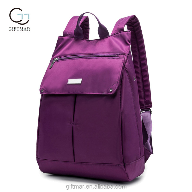 Large Capacity Purple Mummy Baby Maternity Nursing Nappy Diaper Bag Travel Backpack