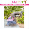 free pattern summer dog accessories brand name dog clothing