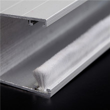 Weatherproof Anti-aging silicon weather strip aluminum window rubber seal