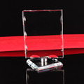 cheap crystal glass blanks award plaque