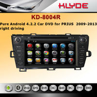 speical sell touch screen car dvd player prius with android system
