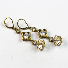 Elegant Pretty Design Women's Lever Back Zircon Party Crystal Ball Fashion Drop Earrings