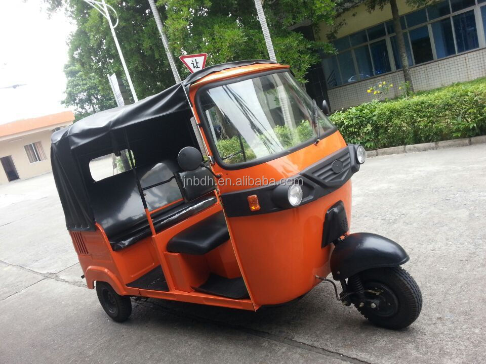 tuk tuk for sale India style 205cc passenger bajaj tricycle