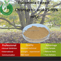 eucommia bark p.e/chlorogenic acid hplc/Eucommia Extract Chlorogenic acid 25-99% HPLC
