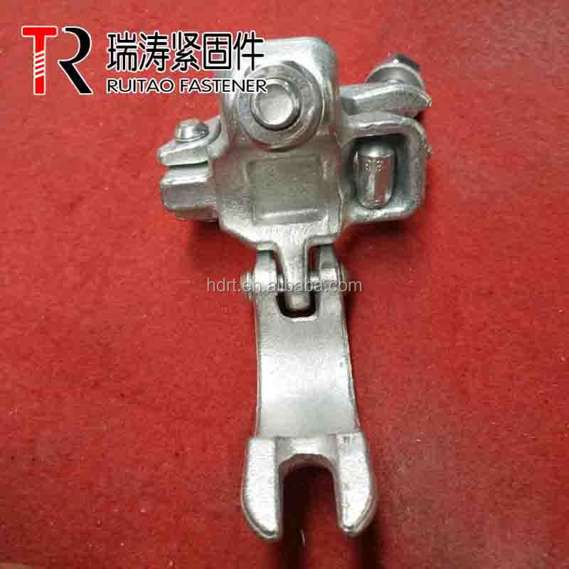 British drop forged right angel clamp