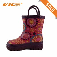 hand shoes cheap kids rain boots