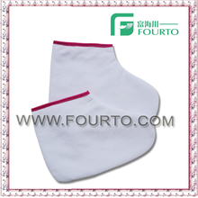 Cotton paraffin wax cotton sock