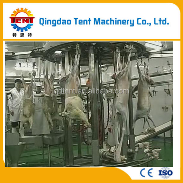 Halal slaughter equipment sheep skinning machine