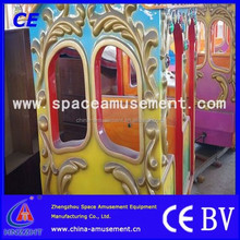 Amusement kids amusement park track train for sale