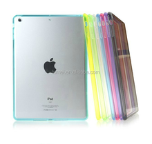 For iPad Mini New Stylish TPU+PC Clear Back Case Cover