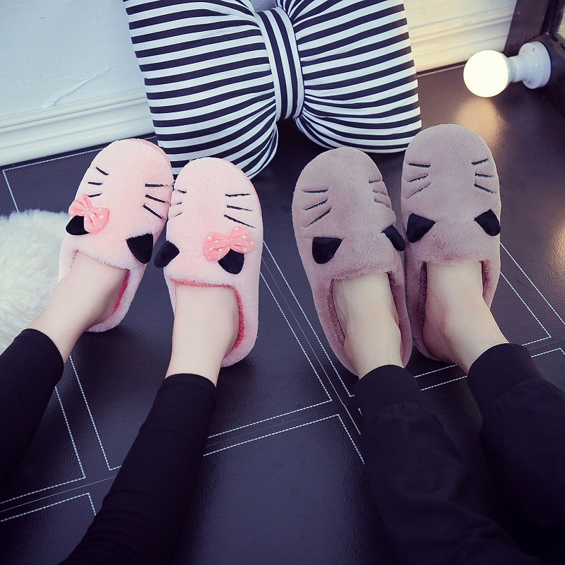 Winter Warm Men Women Indoor Shoe Couples House Slipper