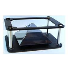 High Quality 3D Projection Pyramid Box 3d holographic display for smartphone