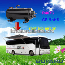Professional rv Van roof mounted recreation vehicle air conditioner horizontal compressor China supplier
