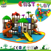 Commercial Kid Outdoor Amusement Equipment Plastic Play Tunnel