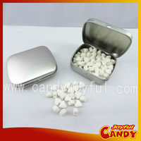 Multi-flavored sugar free mint tablet