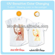 UV Activated Color Changing T-Shirt