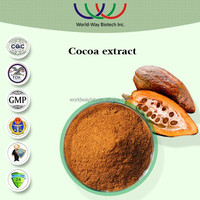 2014 hot sale cocoa extract powder,anti-oxidant 40% polyphenols cocoa bean extract,natural 10%~20% theobromine cocoa extract