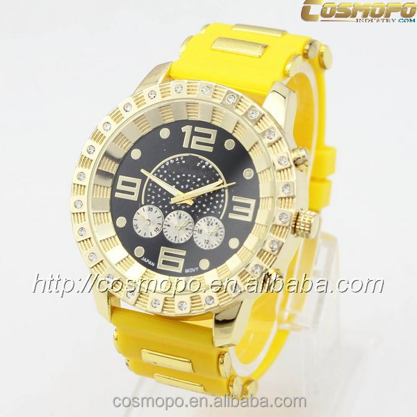 Korean style watches for men latest wrist watches silicone band custom logo