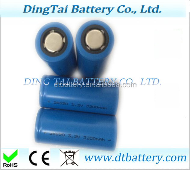 26650 3.2V 3.2Ah Lifepo4 Battery Pack Rechargeable battery li-ion battery Electric vehicles, energy storage, mobile power, back