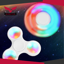 LED Light UP Fidget Hand Spinner Finger Game Desk Fun Toy Wholesale Shipping