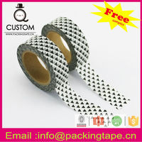 2016 hot sale deco & DIY custom printed decoration washi tape with low price