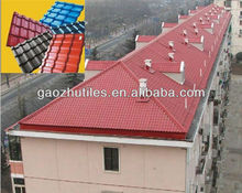 2.5mm spanish building material spanish red roofing shingles tile