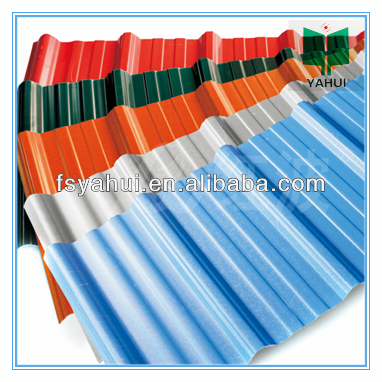 anti-corrosion PVC Roof sheet/upvc roof tile