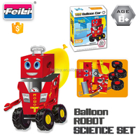 wholesale educational toy balloon robot science set toys for kids