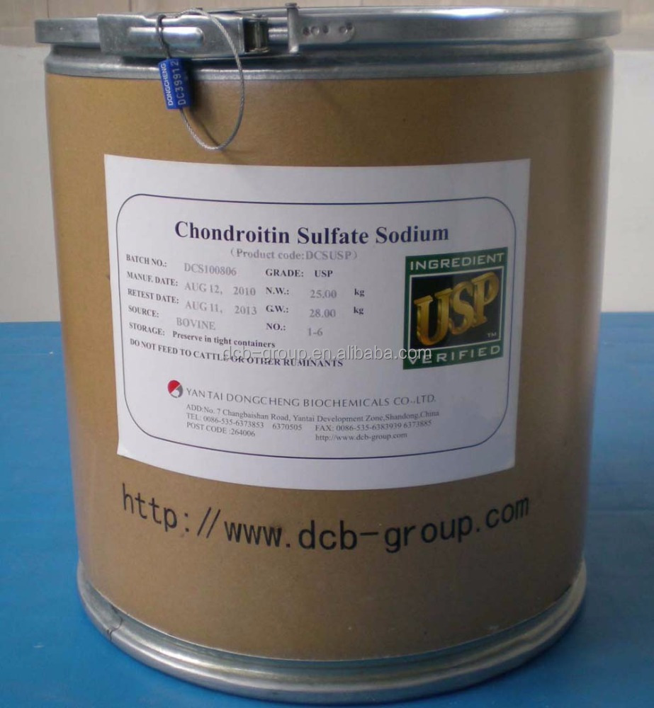 High quality Supplement Chondroitin sulfate , Chondroitin sulfate bovine , Chondroitin sulfate injection