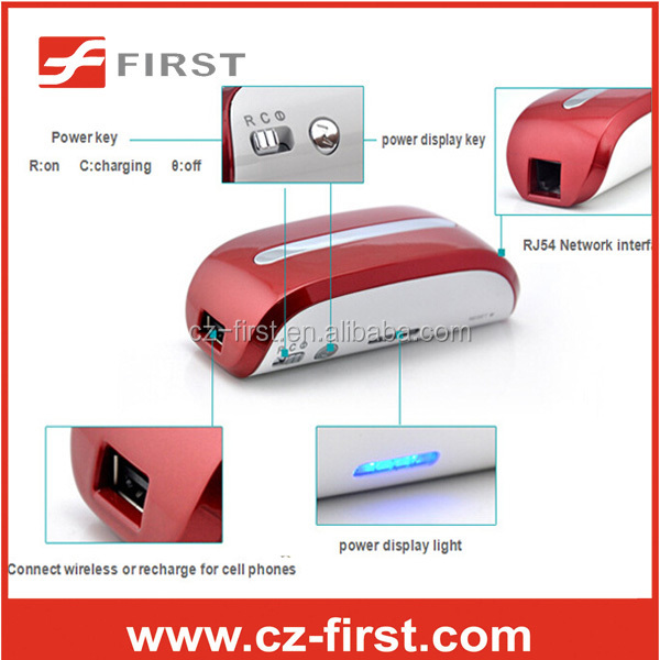 New design 3G wifi router 4400mah mobile charger power bank