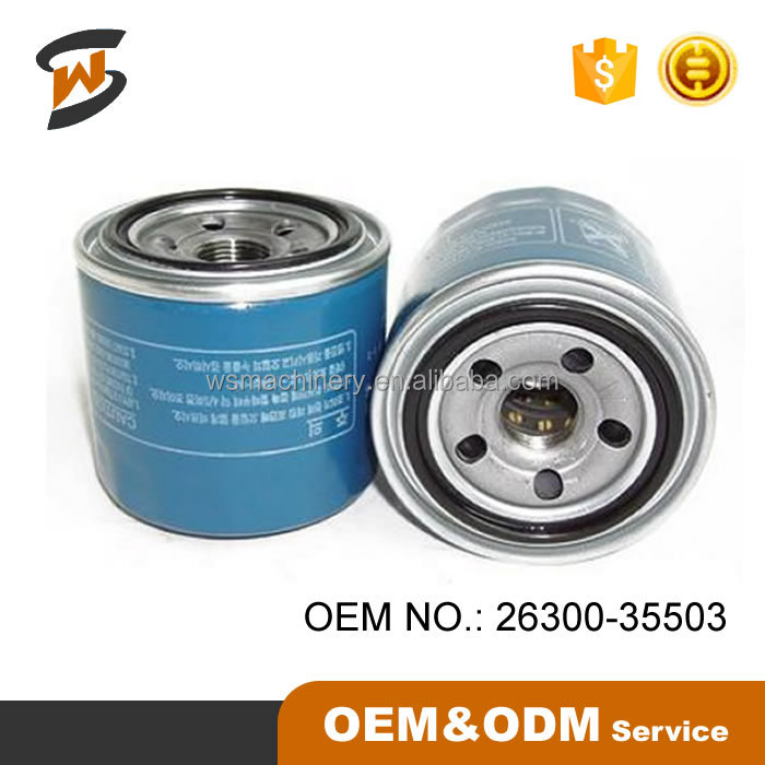 New Genuine Car Oil Filter 26300-35503 for KIAA Motors
