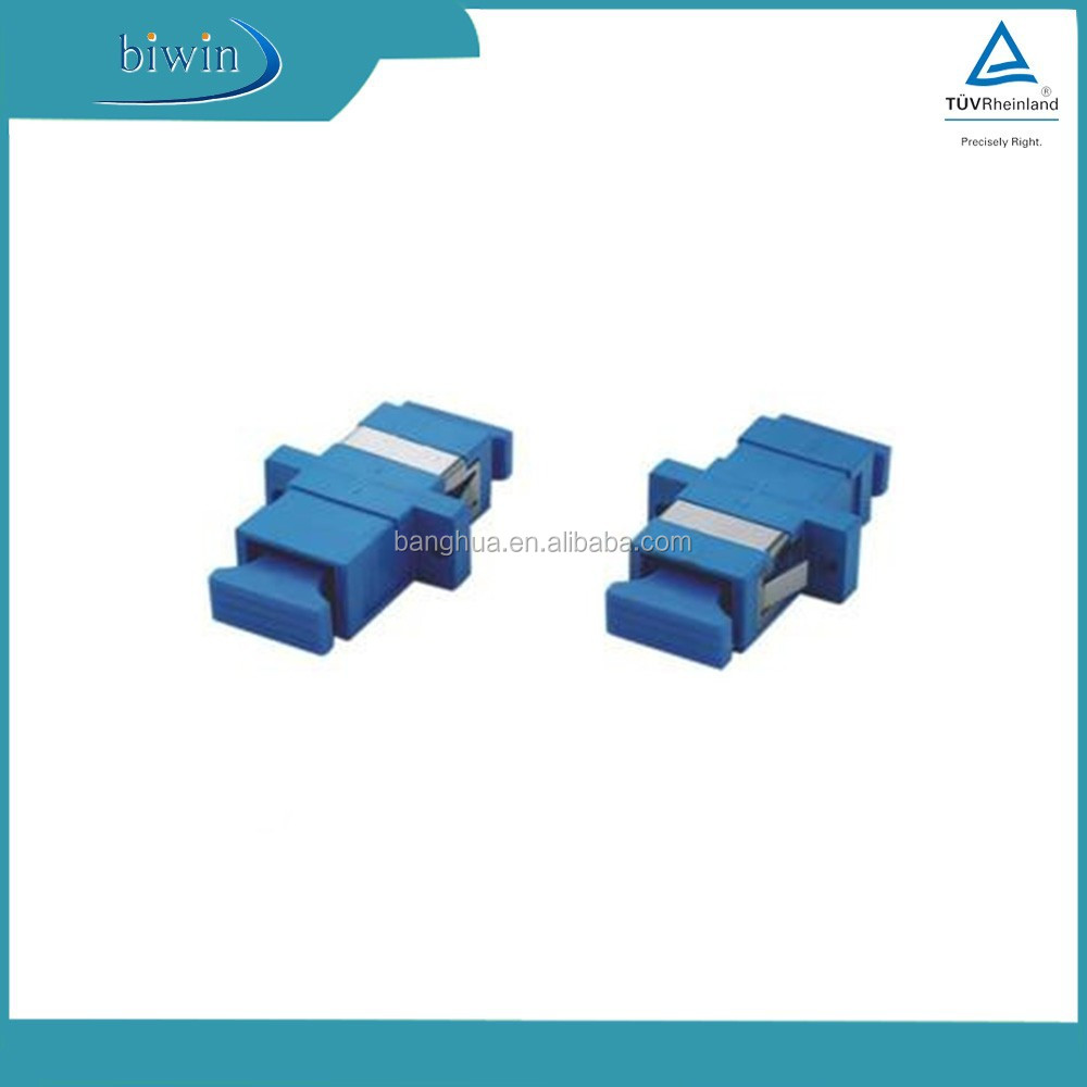 New design Single mode SC Fiber Optic Adapter